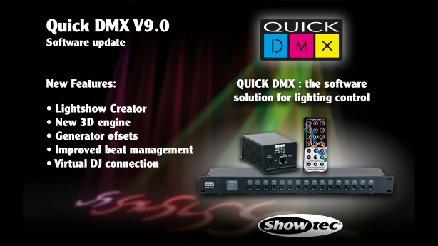 Quick DMX releases V9,0 software