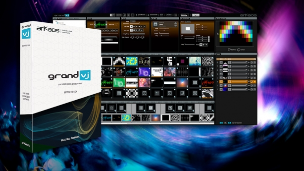Arkaos introduces the latest Grand VJ version 2.5